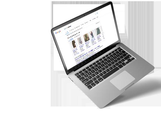 Zoek resultaten op je laptop | Jouw Seo Afdeling